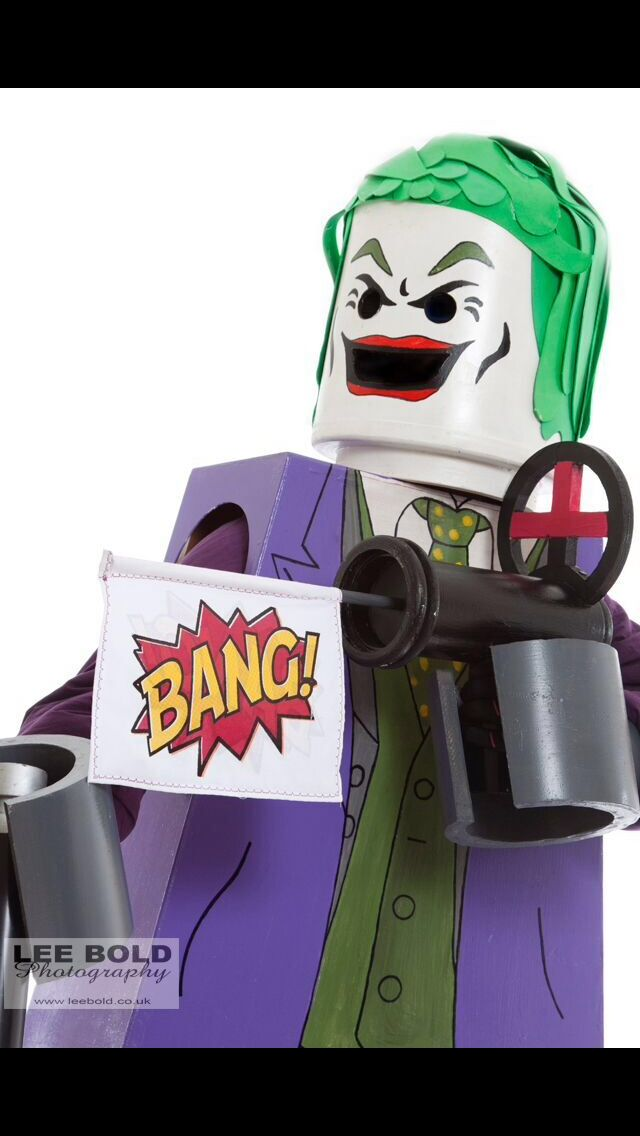 Costume Iu0027ve made for charity events and of course scare the children this Halloween #lego #joker #costume #minifigures #cosplay & Costume Iu0027ve made for charity events and of course scare the ...