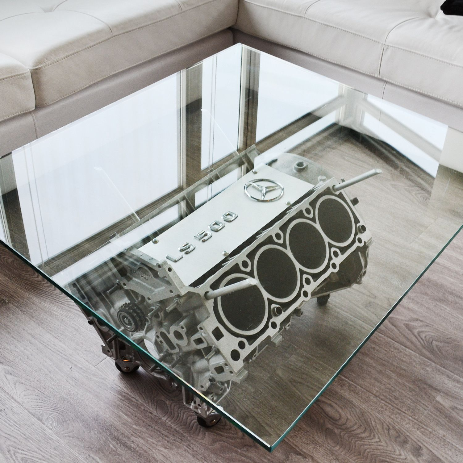 Motor Couchtisch V8 Mercedes Cls 500 Coffee Table Modern Stuff Couch