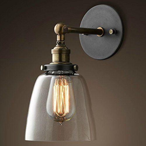 PureLume ampoule antique cuivre vintage-croche applique murale en ...