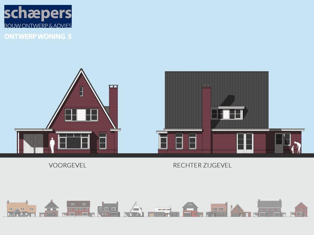 Jaren 30 huis ontwerp nieuwbouw modelwoning voorbeelplan for Huis in 3d ontwerpen