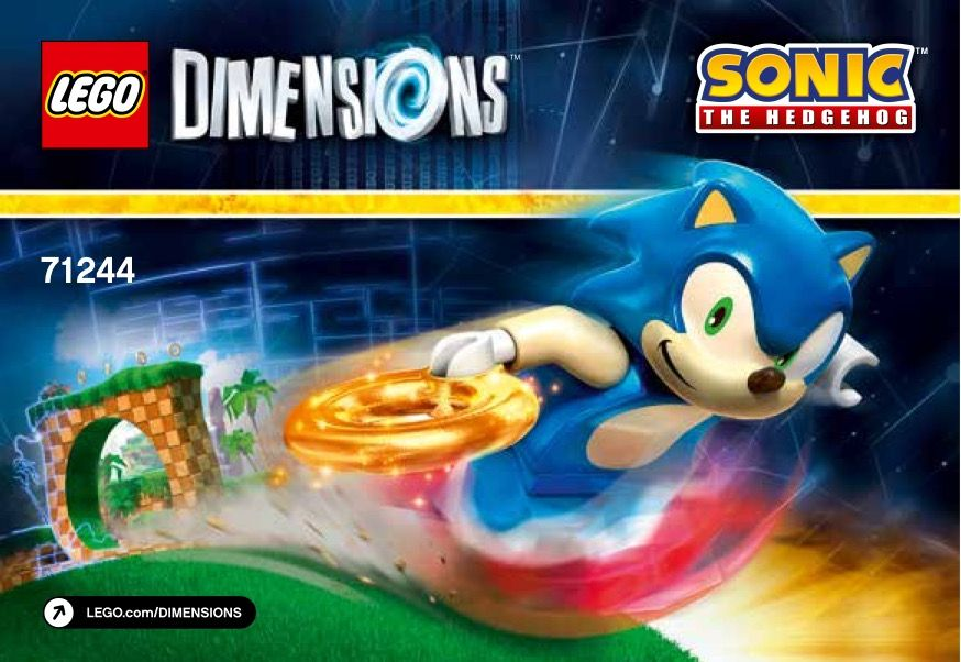 View Lego Instructions For Sonic The Hedgehog Level Pack Set Number 71244 To Help You Build These Lego Sets Lego Sonic The Hedgehog Lego Dimensions