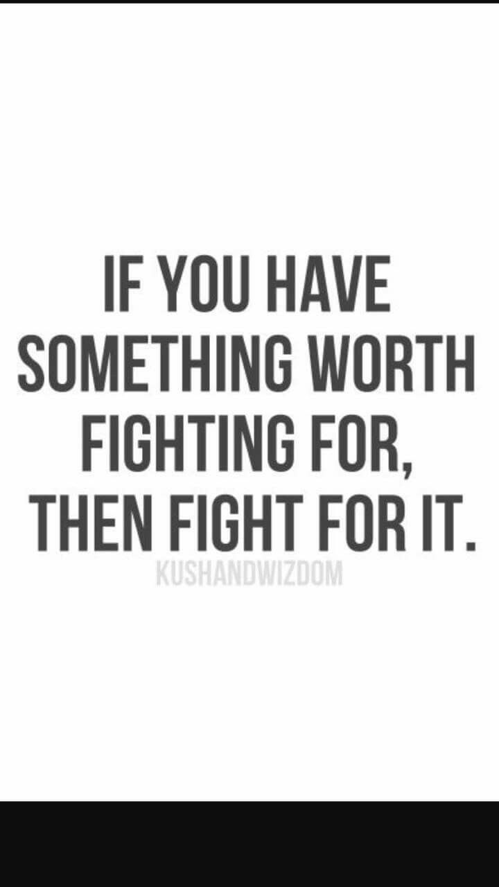 Fight For What You Love Quotes Don't Be Stubborn  Things I Want To Say. Pinterest