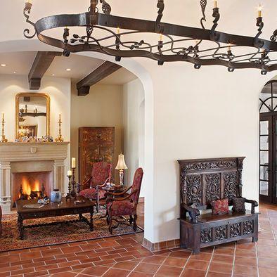 Spaces Saltillo Paver Floor Tiles Design, Pictures ...
