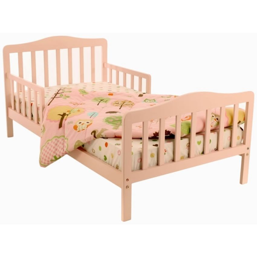 Dream On Me Classic Design Toddler Bed Pink Toddler Bed And Products