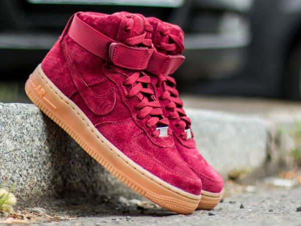 nike air force 1 suede femme bordeaux