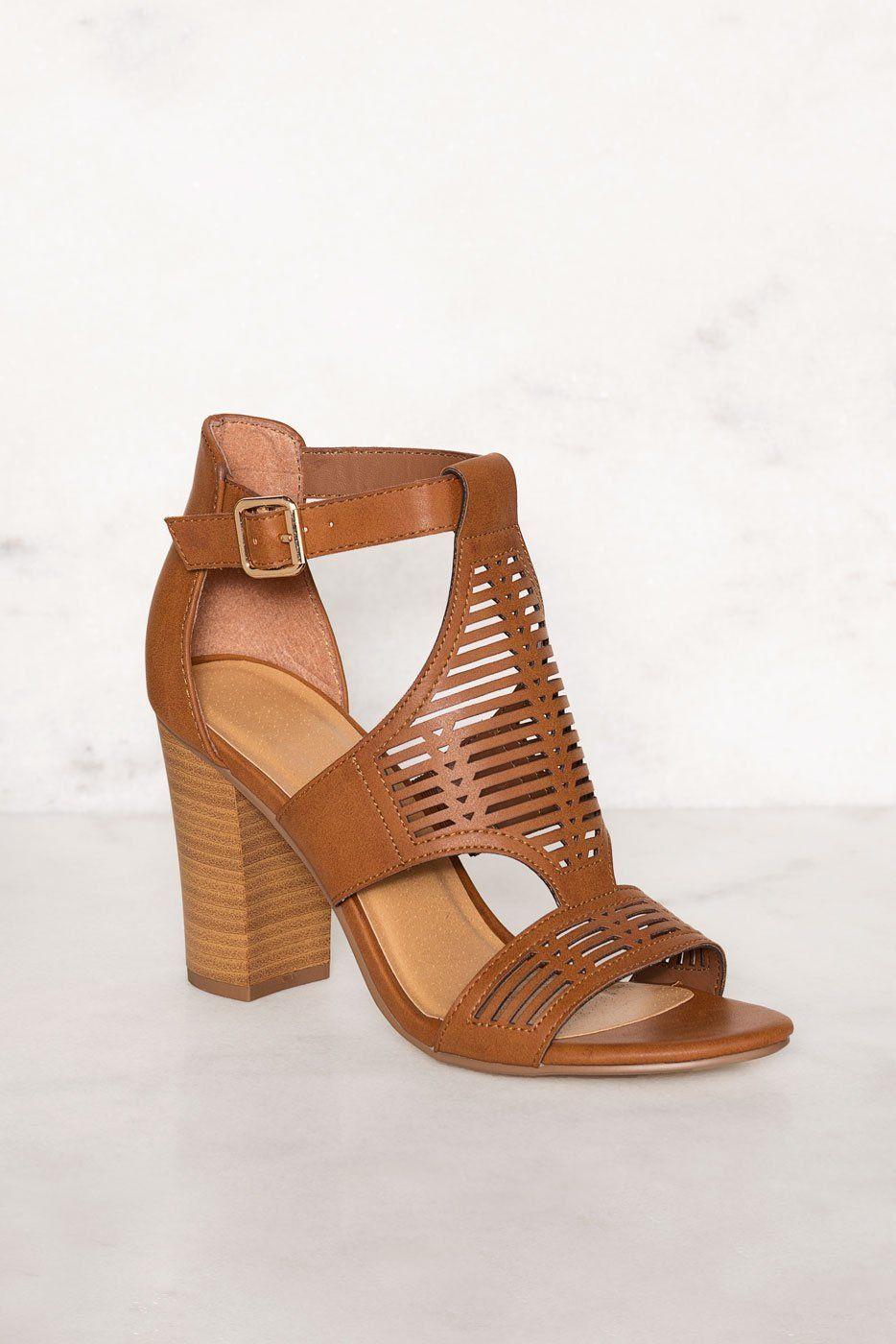 7a339c1281d Tracey Block Heel Sandals. Tracey Block Heel Sandals Black Strappy ...