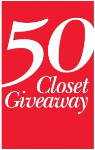 ClosetMaid is giving away 50 closets to 50 winners! Enter the 50 Closet Giveaway from ClosetMaid! Click Here to Enter