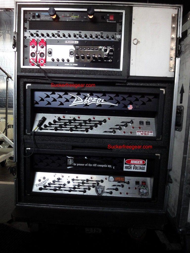 james hetfield rack guitar tech stuff guitar rig guitar james hetfield. Black Bedroom Furniture Sets. Home Design Ideas