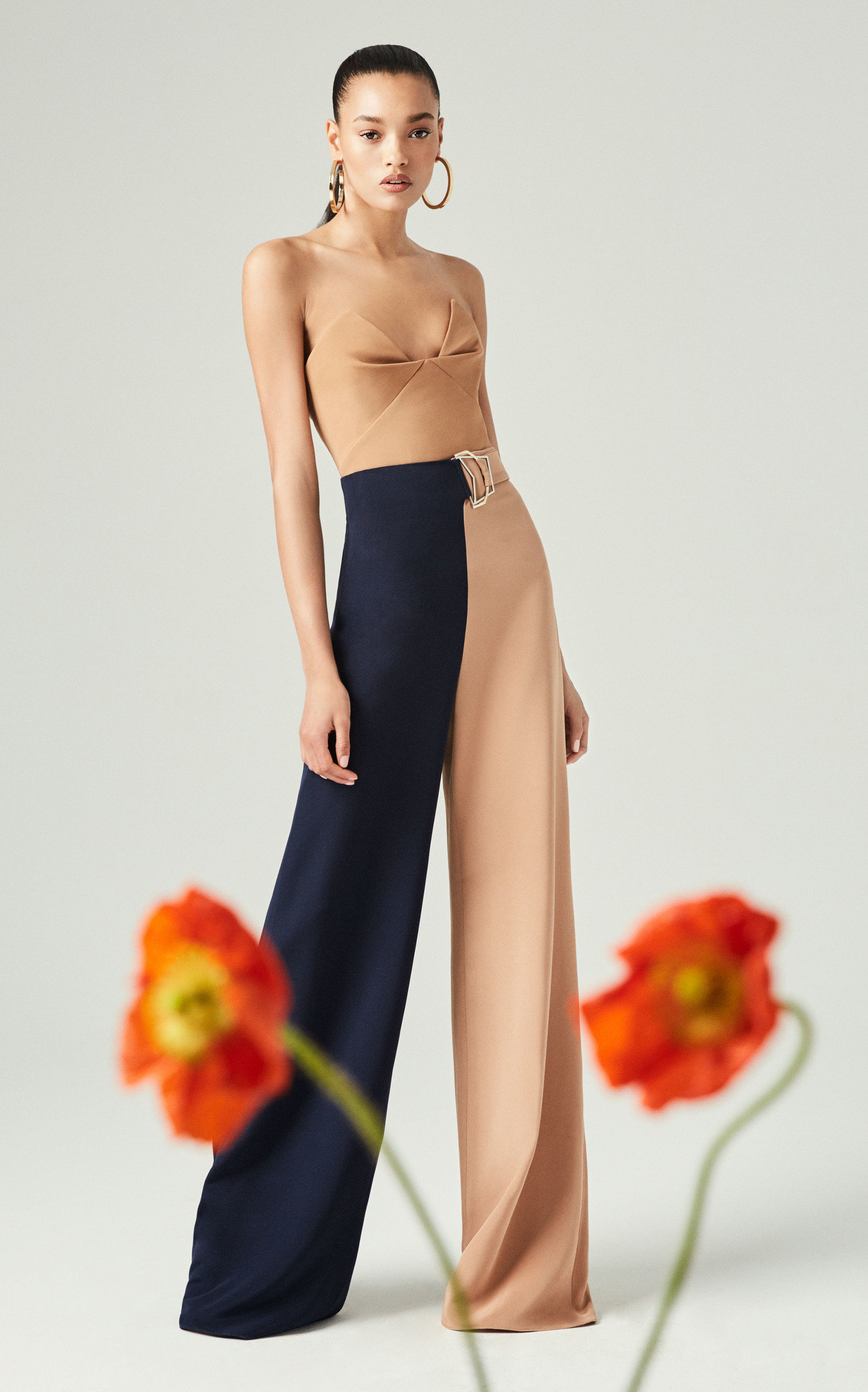 Cushnie Pintucked Bustier Cady Top Size: 0