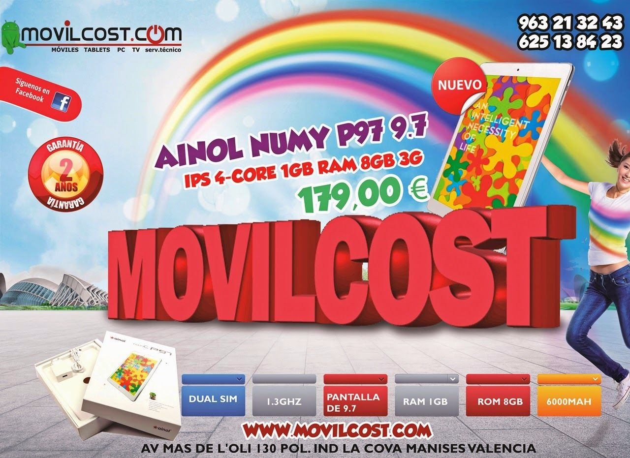 Movilcost Valencia: Hola Mundo...www.movilcost.comTablet Ainol Numy P...