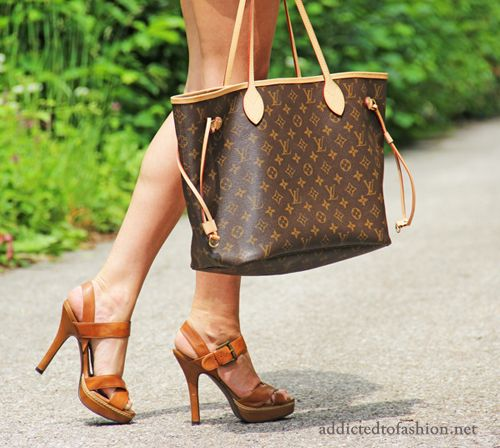Louis Vuitton Shopper Tasche