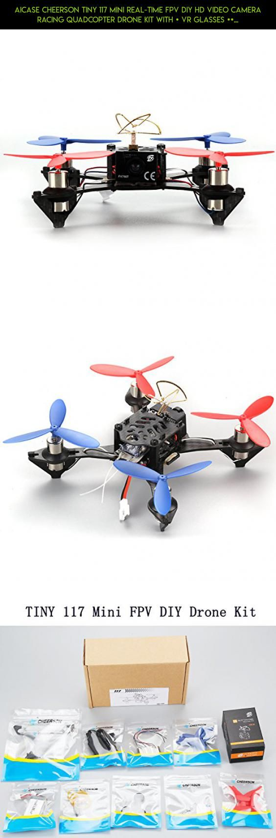 AICase Cheerson TINY 117 Mini Real-time FPV DIY HD Video