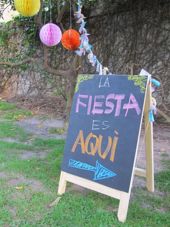 Pizarr n para eventos aniversaris fiesta cumplea os - Fiesta cumpleanos adulto ...
