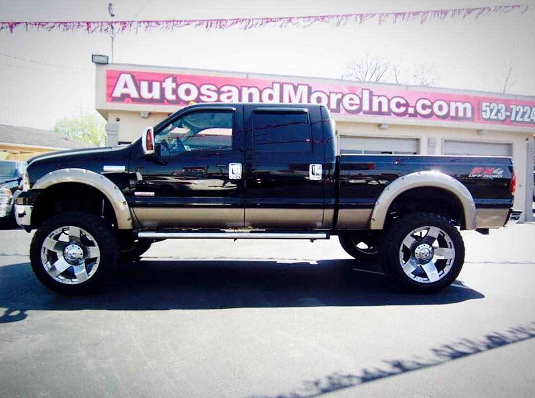 2006 f250 lariat custom show truck lifted ford f250 diesel 4x4 truck forsale autosandmoreinc [ 1080 x 804 Pixel ]