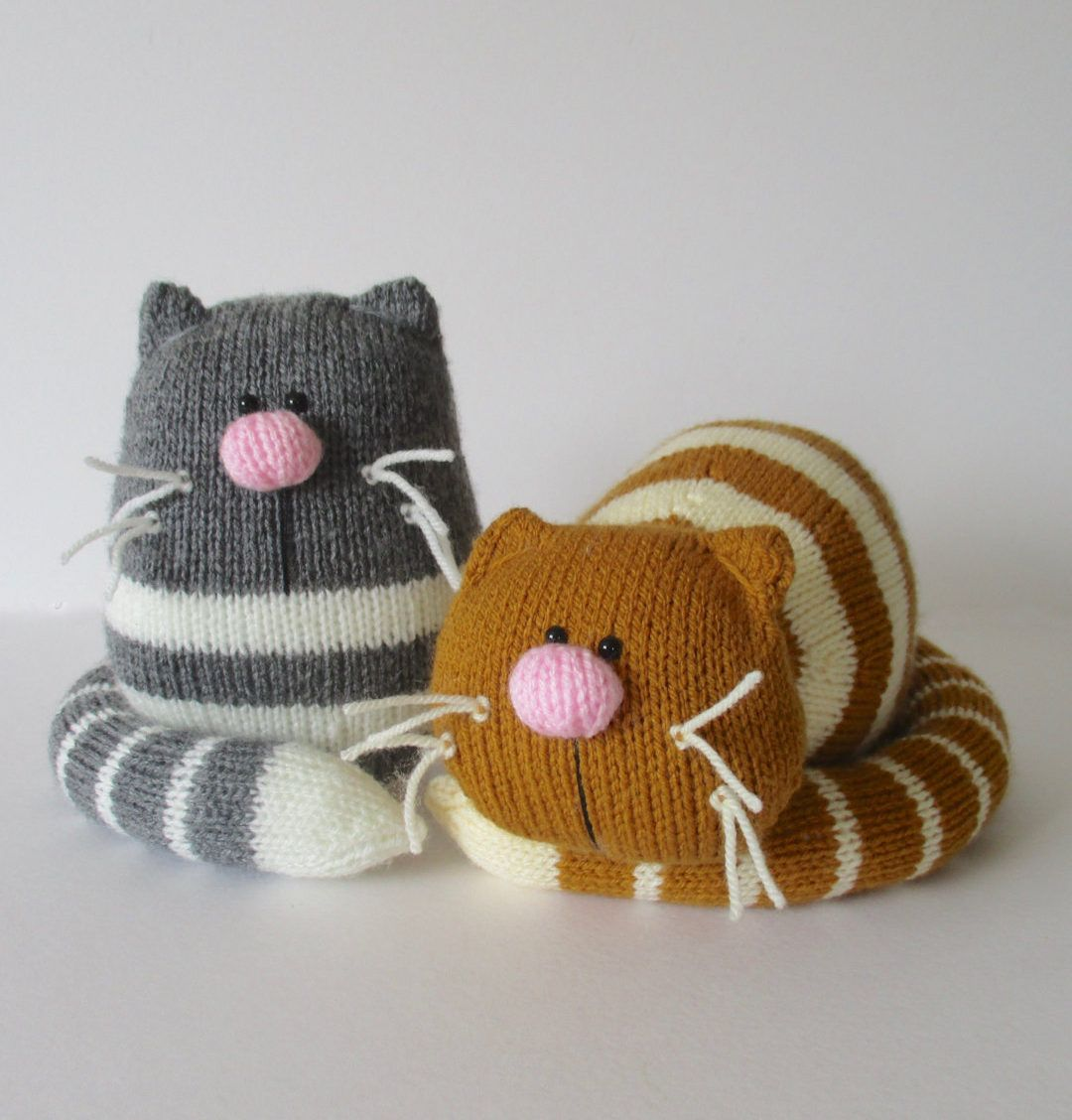 Knitting Patterns Cat Toys 121