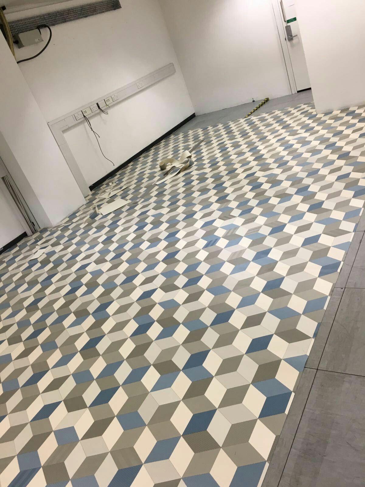 Patterned Vinyl Flooring Magnificent Inspiration Design