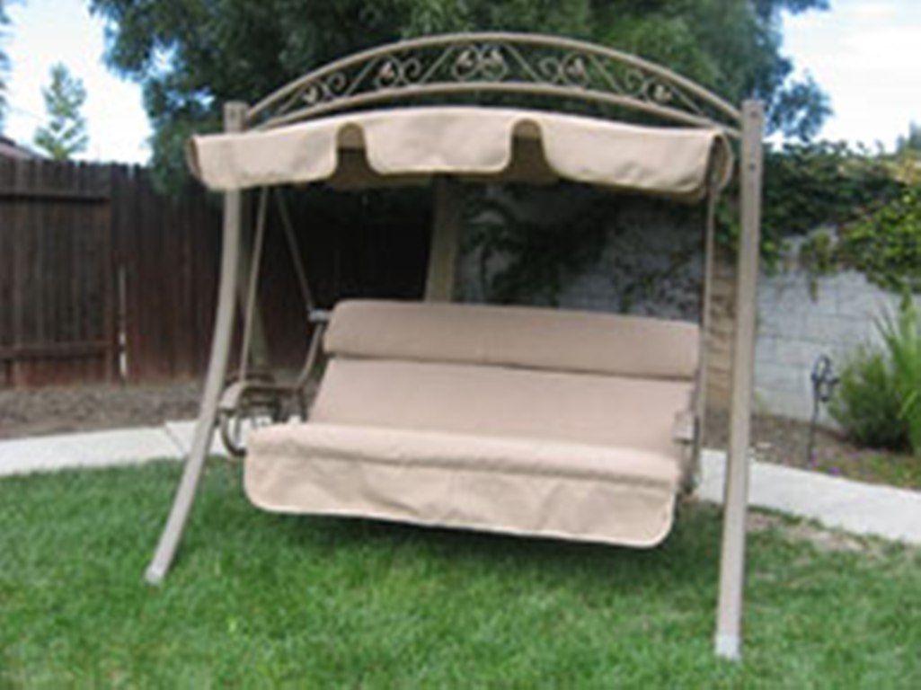 Patio Swing Cushion Replacement Costco Garden Swing Seat Replacements Discount Canopy Tents