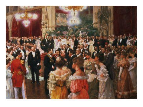 The Viennese Ball Giclee Print by Wilhelm Gause at Art.com   Histoire de la peinture, Bal, Valse