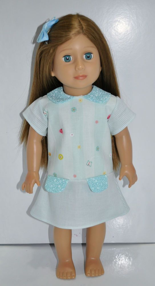 """Fits American Girl Our Generation Journey 18/"""" Dolls Clothes Doll Tights Striped"""