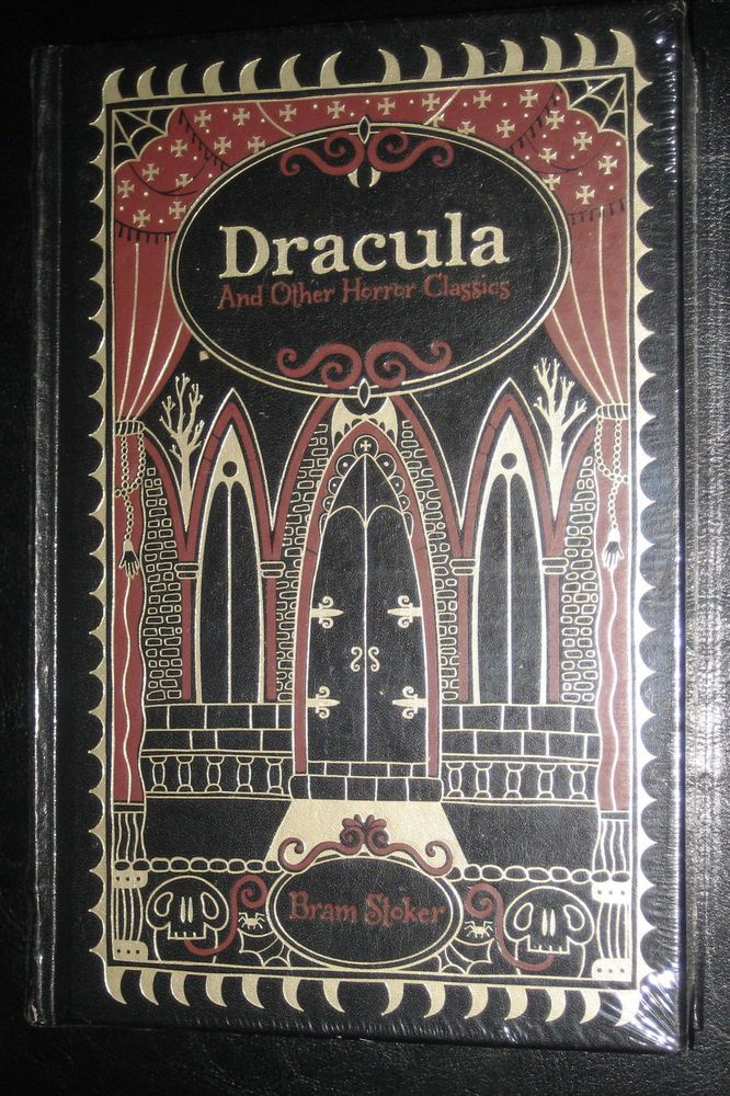 Dracula And Other Horror Classics Leatherbound Hardcover New Sealed Horror Dracula Hardcover