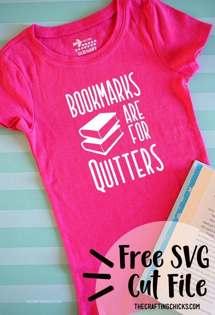 Book T-Shirt SVG CUT FILES