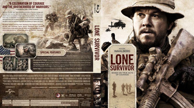 Lone Survivor Blu-ray Custom Cover | Custom BD Cover ...