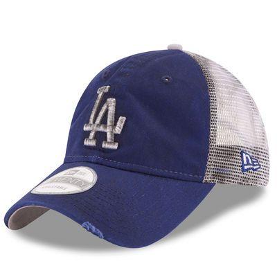 Los Angeles Dodgers New Era Team Rustic 9TWENTY Snapback Adjustable Hat -  Royal 7cbf0640e00