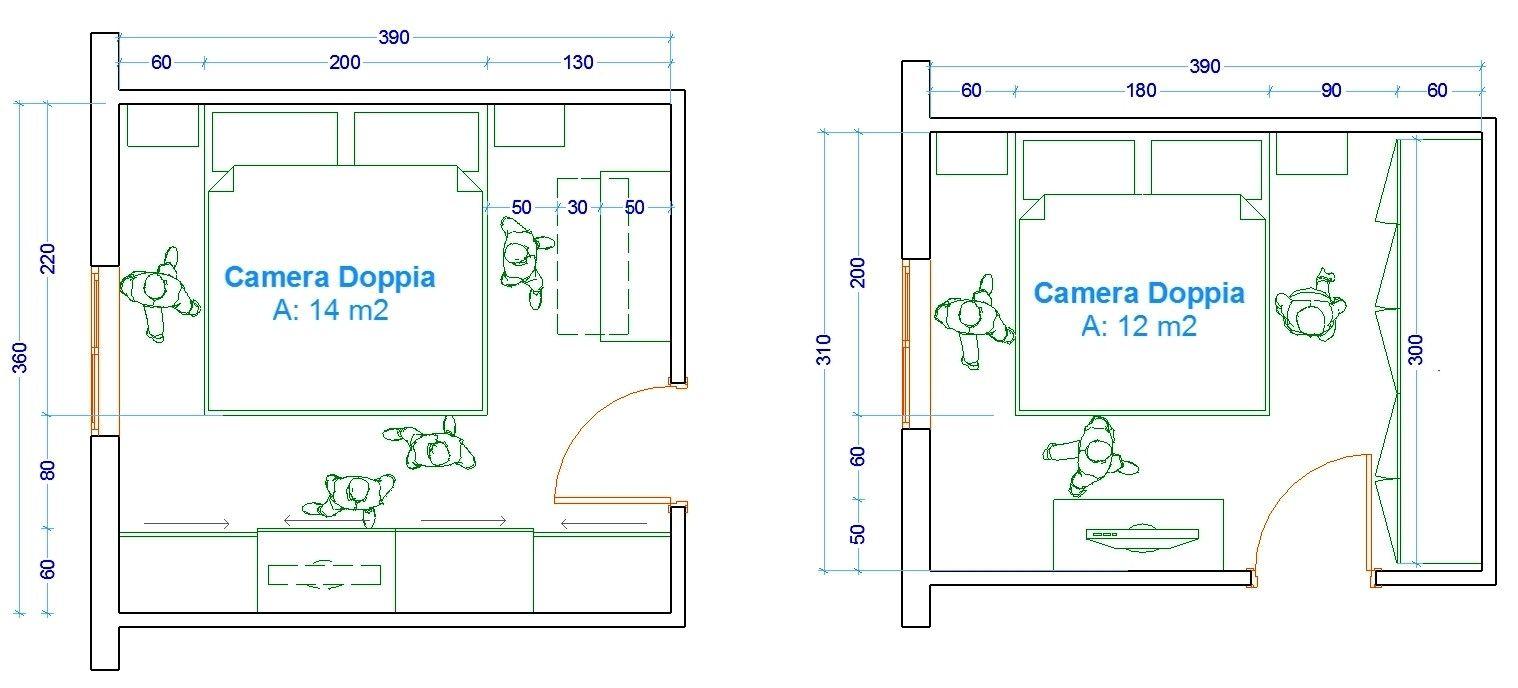 Planimetria Casa Con Misure pianta camera da letto con le misure dell uomo nell