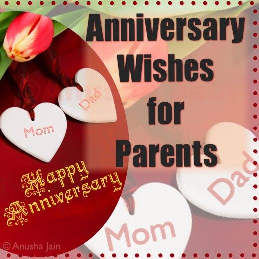 Happy anniversary mom dad poems and quotes