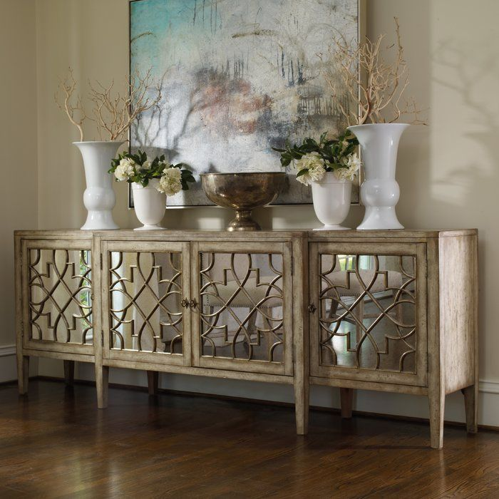Sanctuary 105 Quot Wide Sideboard Mirrored Furniture Decor