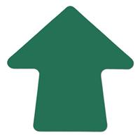Green 4 Stick On Colored Vinyl Directional Arrows 100 Per Roll Arrow Pressure Sensitive Adhesive Color Coding