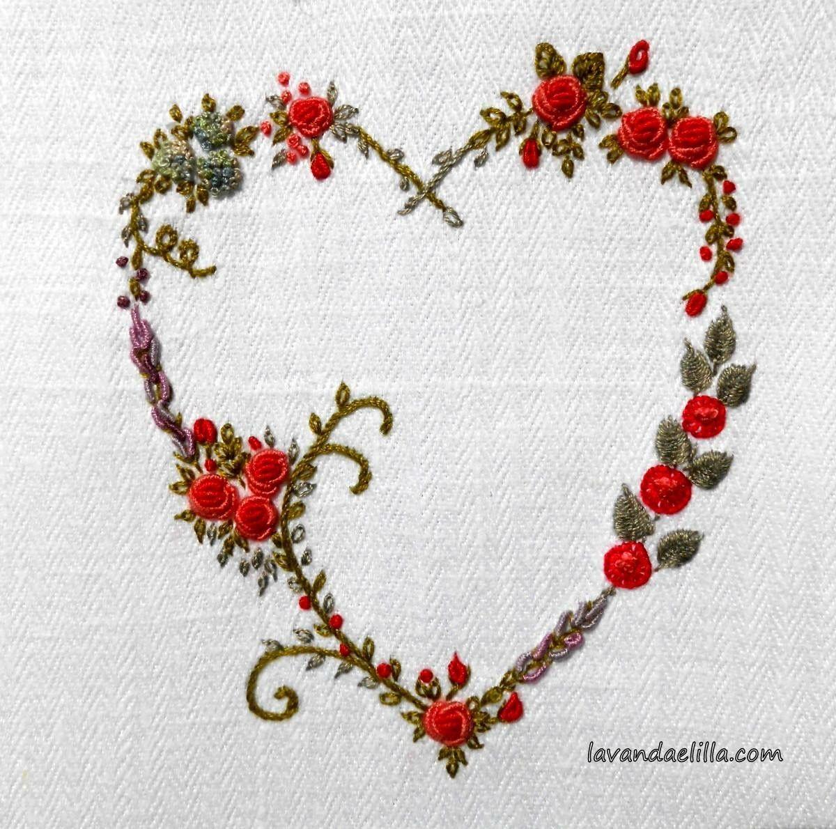 Pin By Gouri Joshi On Embroidery Lavanda E Lilla Elizabeth