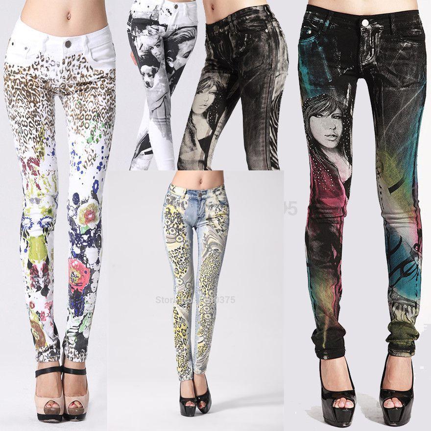 Cheap 2015 nuevo y elegante de lujo gótico Jeans mujer, para mujer ...