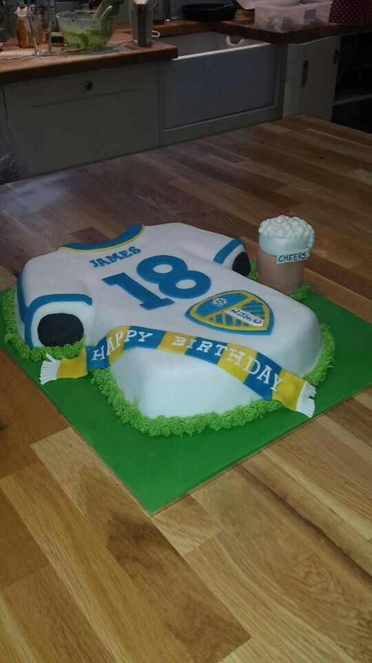Leeds united cake Leeds united, Leeds, Birthdays