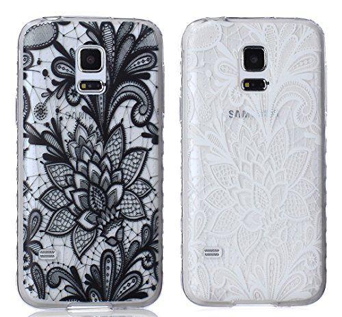 Pheant Samsung Galaxy S5 Mini Hülle [3 in 1 Set] TPU Sili