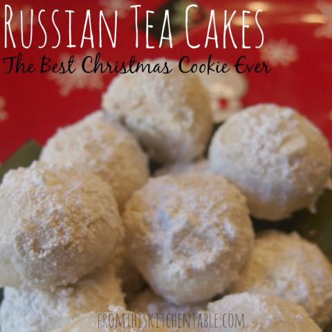 Russian Tea Cakes Recipe Russian tea cake, Tea cakes