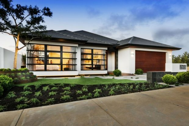 The Azumi - une maison zen du0027inspiration japonaise Perth - facade de maison moderne
