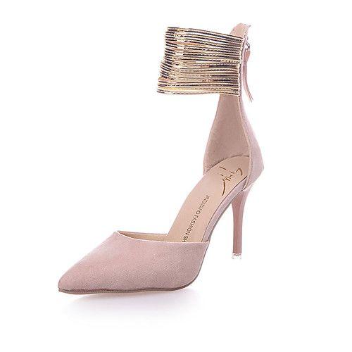 9955c121bf493 Femme Chaussures à Talons club de Chaussures Laine synthétique Polyuréthane  Printemps Eté Décontracté Habillé Soirée   Evénementclub de