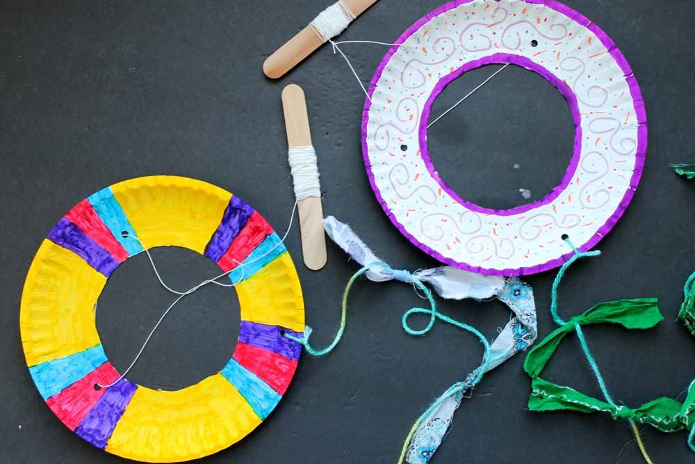 Kite Craft: Making A Kite With A Paper Plate!