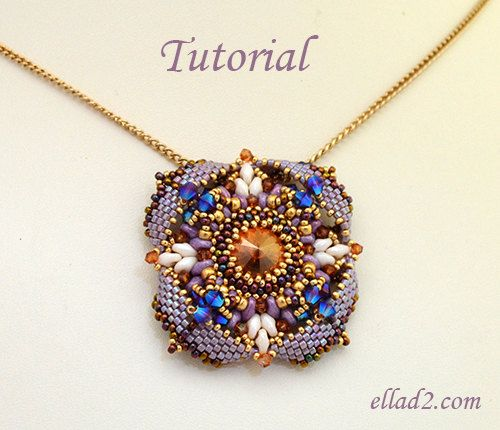 Tutorial pendant eterno beading tutorial beading pattern instant tutorial pendant eterno beading tutorial beading pattern instant download pdf jewelry aloadofball Image collections