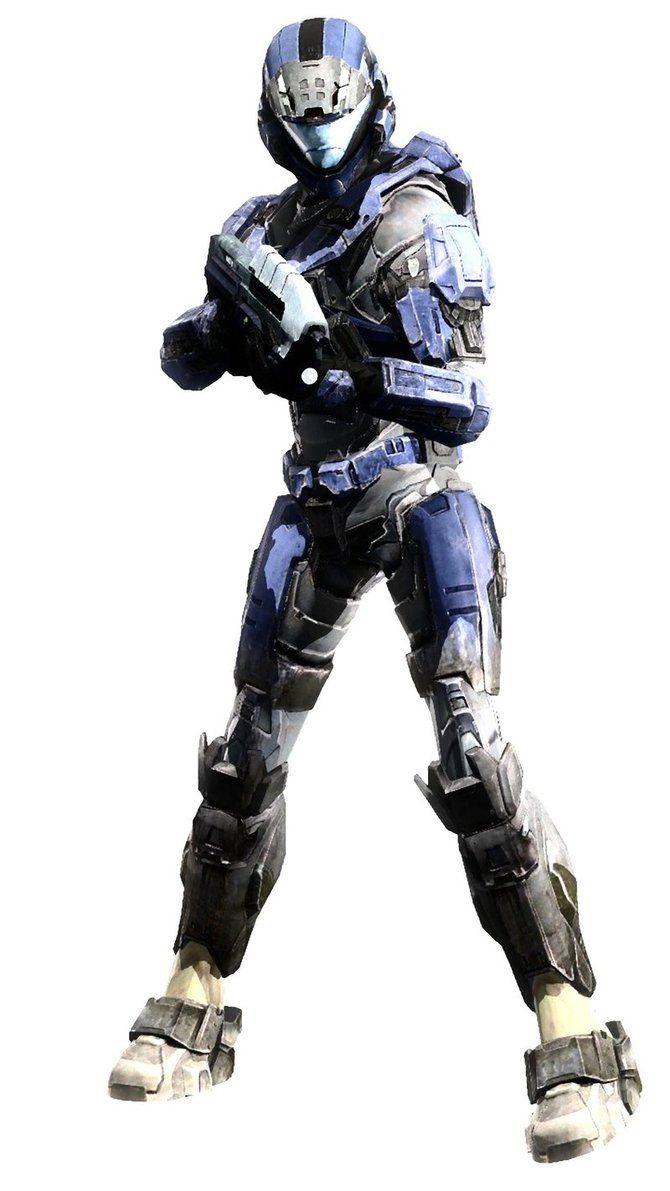 Armor Spartan Female Halo