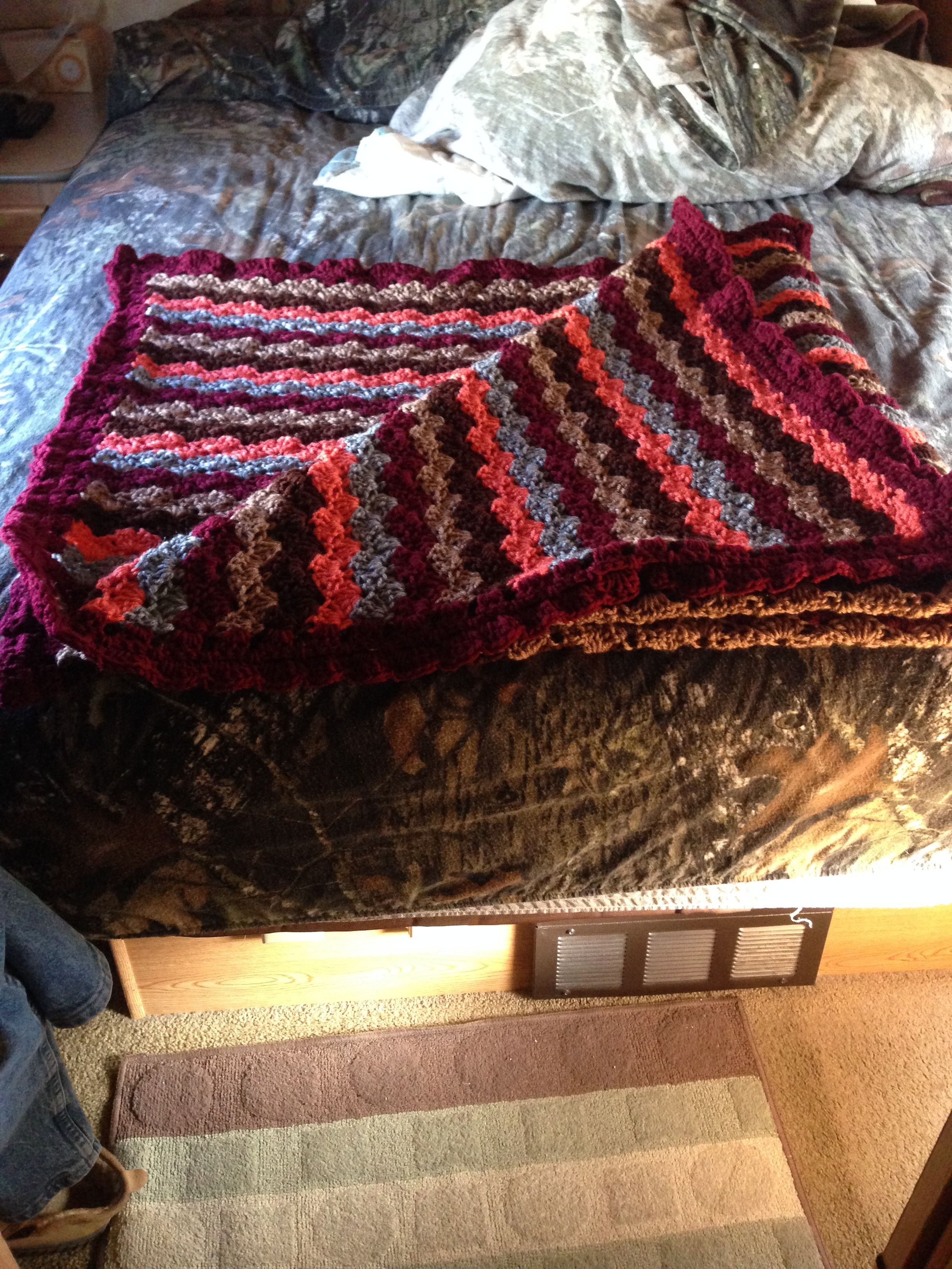 Pin by Carolyn Chergi on HandMade By Me Blanket