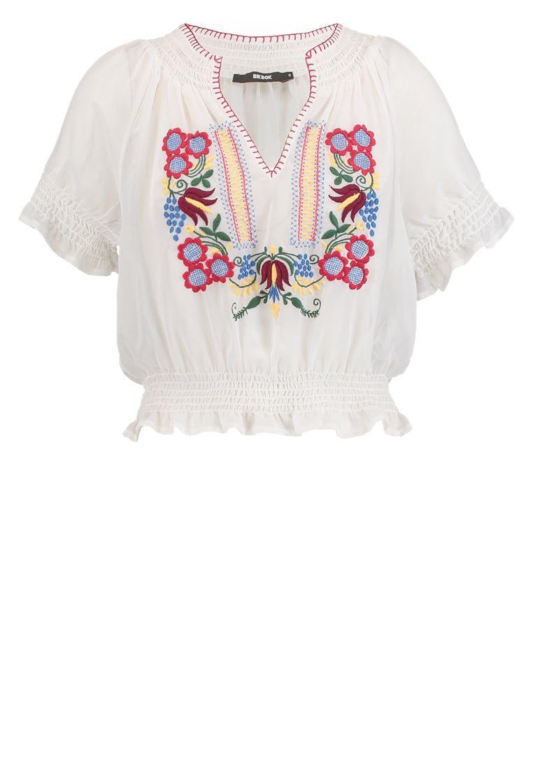 Dein Top für trendige Looks. Bik Bok BABOUSHKA          - Bluse - white für 27,95 € (31.07.16) versandkostenfrei bei Zalando bestellen.