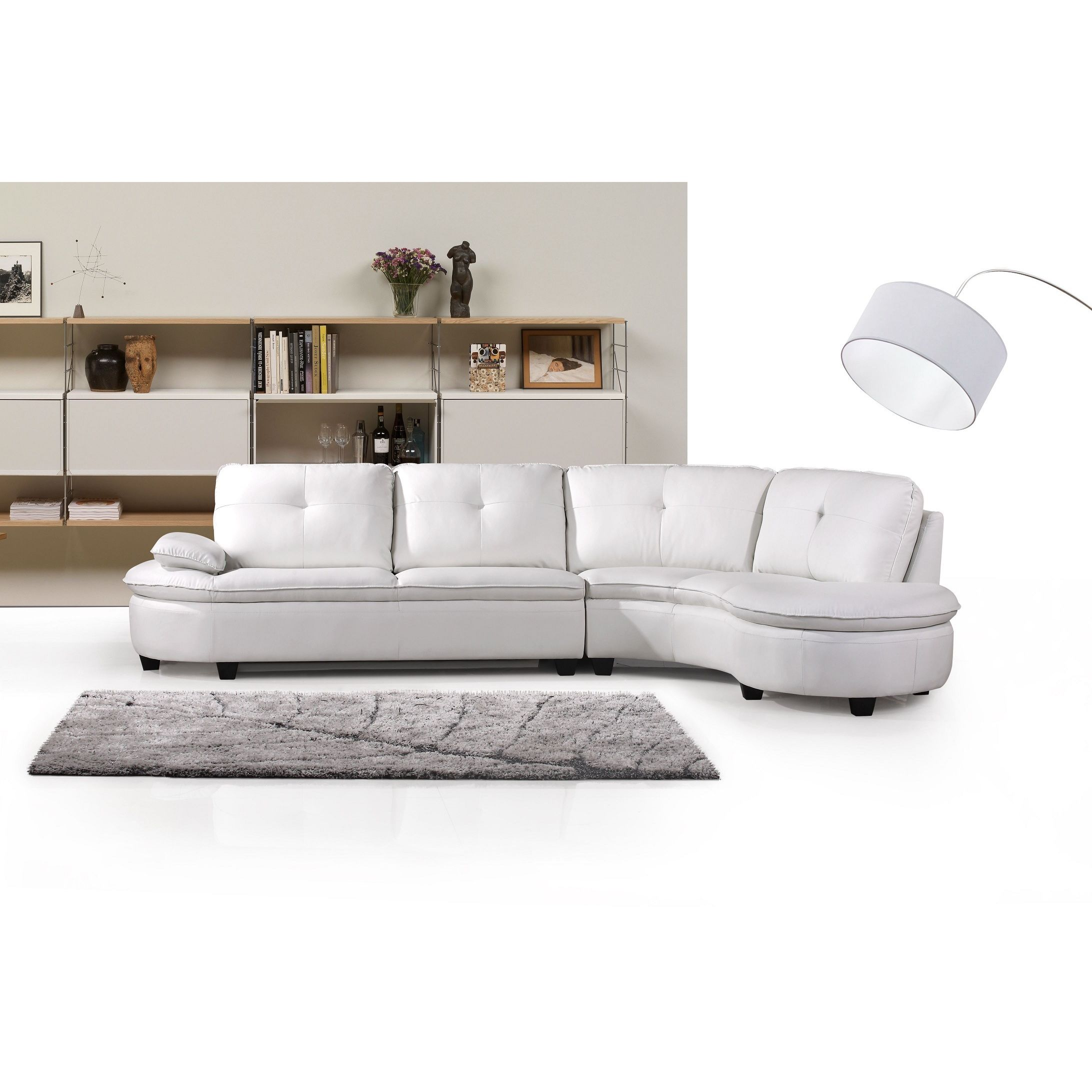 Cosmo Right Facing Sectional Sofa