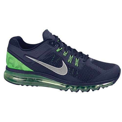 sale retailer 4ab40 43f59 Nike Air Max + 2013 - Mens - Running - Shoes - Seahawks Colors!