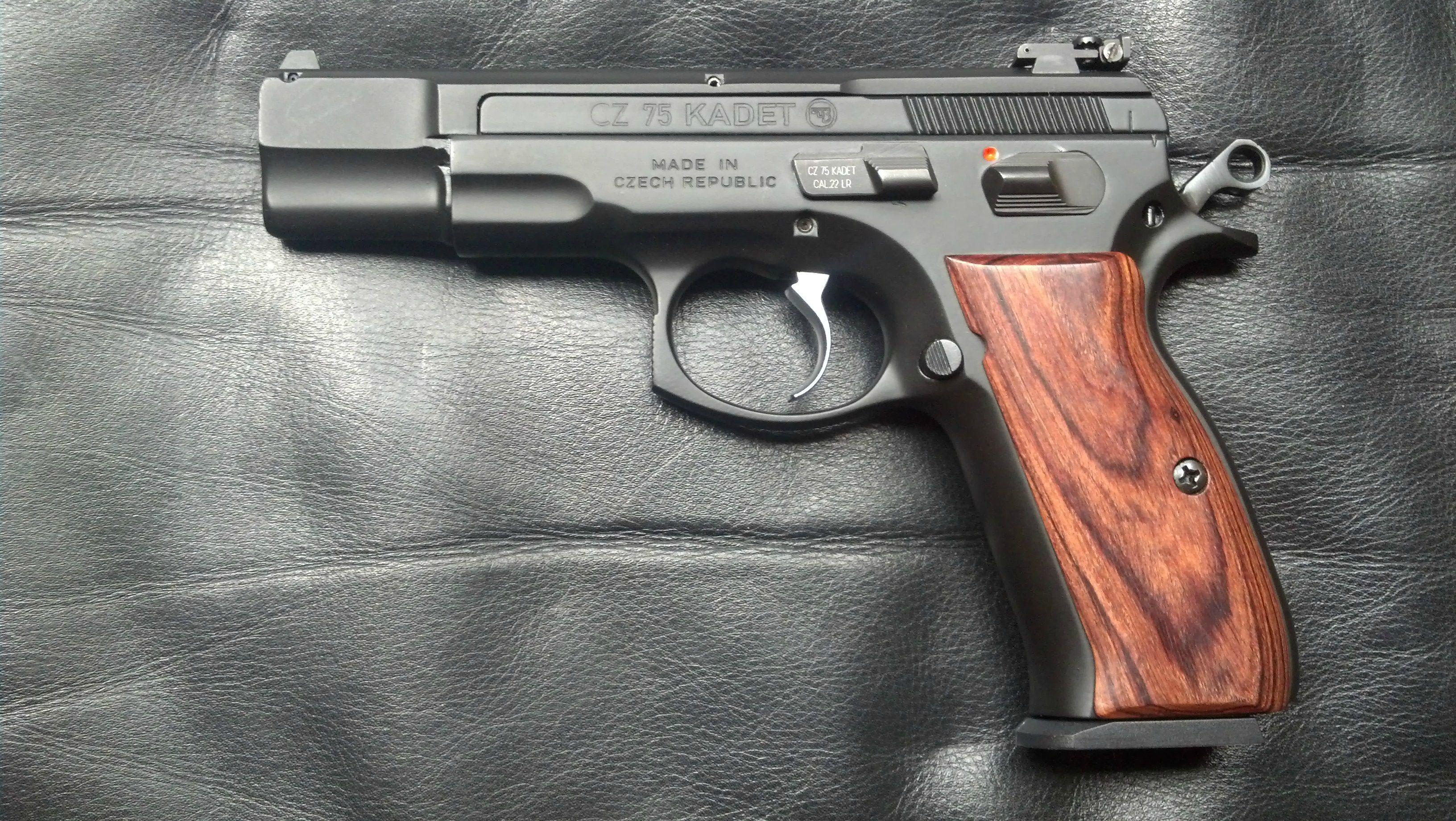 CZ 75 Kadet (Full Pistol)   cz   Rifle accessories, Guns