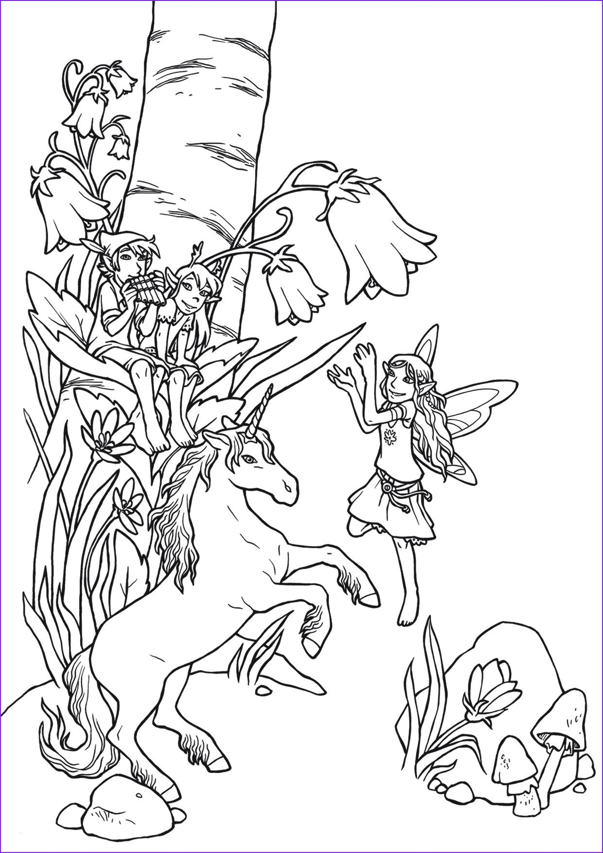 Pin By Coloring Pages Forkids On Elfen Und Feen Ausmalbilder Fairy Coloring Pages Fairy Coloring Coloring Pages