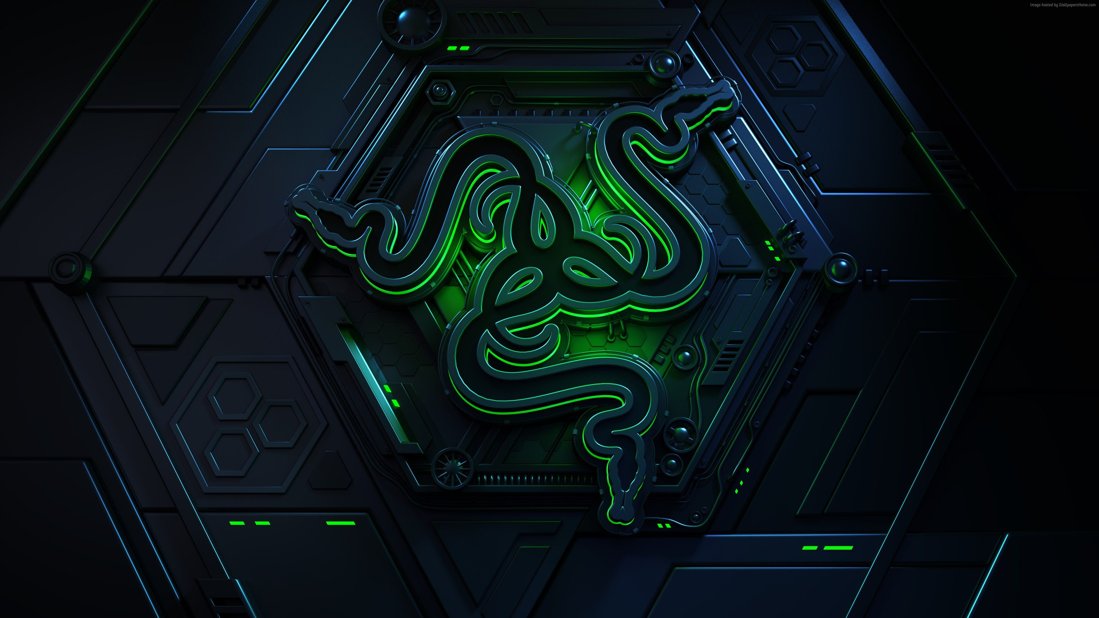Wallpaper Razer Logo 4k Hi Tech Http Www Wallpaperback Net Hd Wallpapers Wallpaper Razer Logo 4k Technology Wallpaper Neon Wallpaper Black Phone Wallpaper