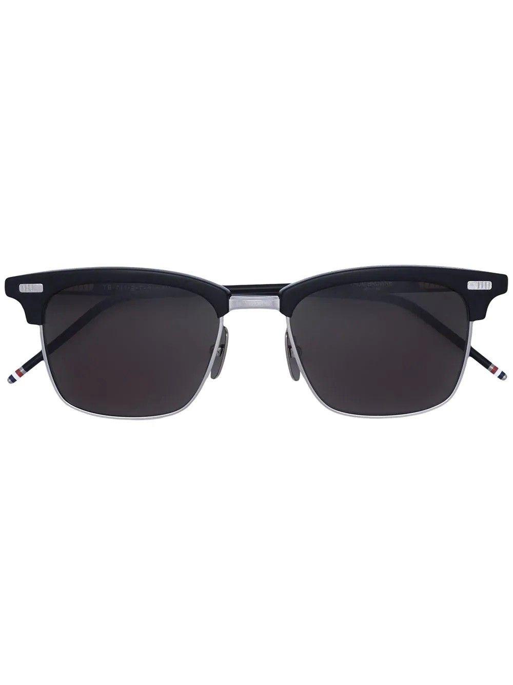 Thom Browne. Black Square Frame Sunglasses | Products | Pinterest ...