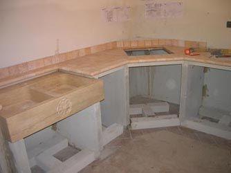 Linea vera muratura elenco cucine in muratura cucine for Come leggere la costruzione di progetti